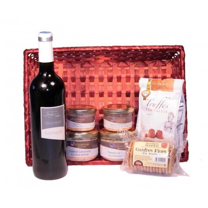 Panier Gourmand -Chasseur-