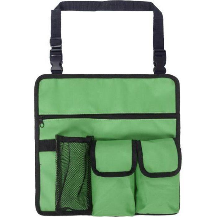 Chaise Pliante Siège Portable Multifonction,Chaise + Sac à Dos pour Pêche Camping Voyages Plage Pique-nique Extérieurs, Vert