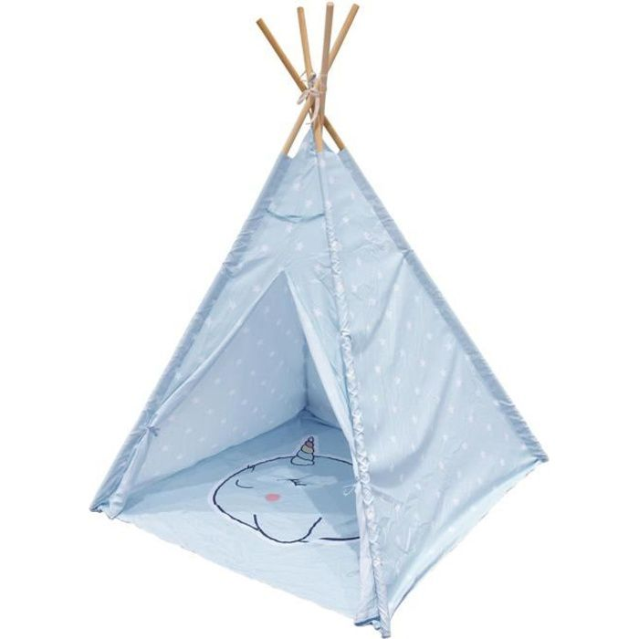 Tipi enfant Narval Bleu The Home Deco Factory