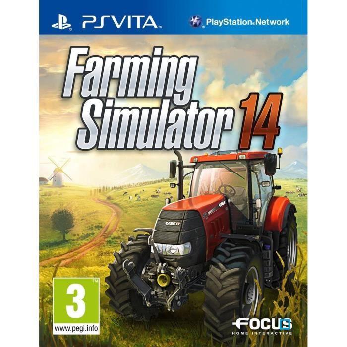 Farming Simulator 14 Jeu PS Vita