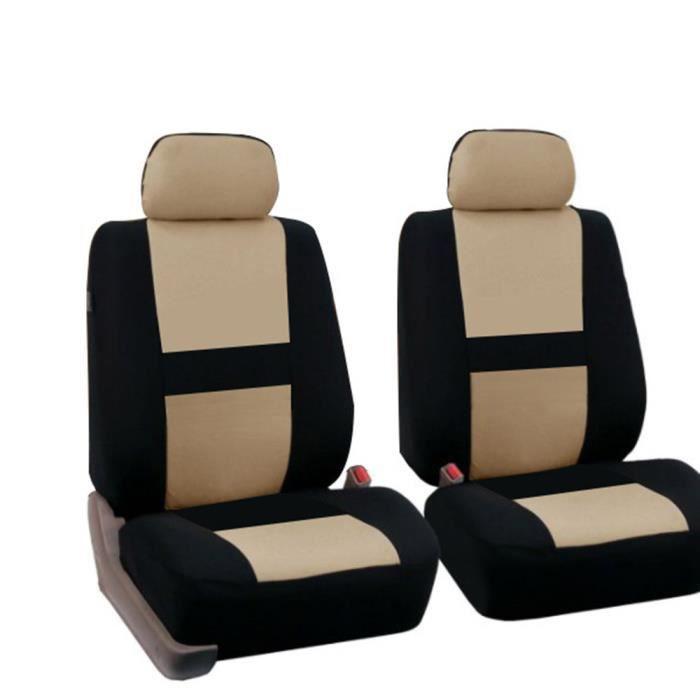 Housses de sièges de Voiture,4 pcs Ensemble Complet Universel de Siège de Voiture Couvre Avant Protecteur Quatre de Siège pour VW