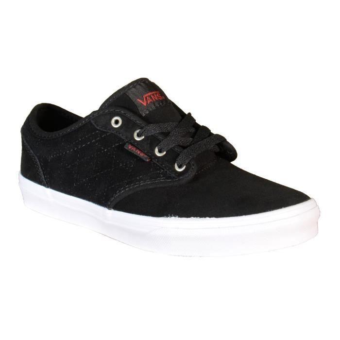 Vans Atwood Chaussures de Sport pour Femme Noir Cuir ZNRGU7