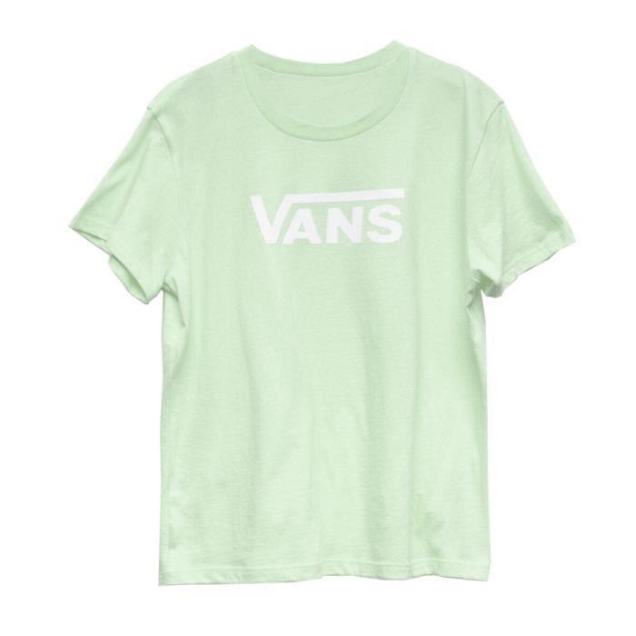 T-Shirt vert fille Vans GR Flying V Girls