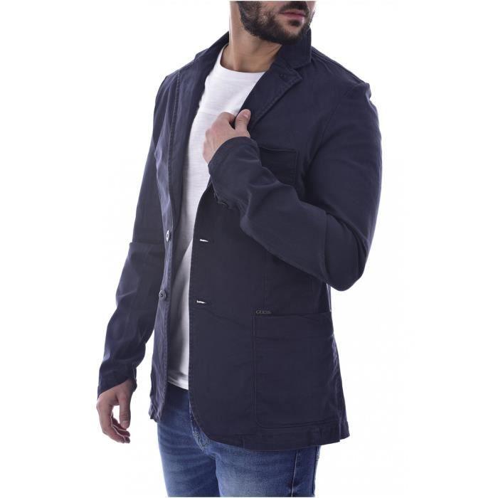 Blazer coton gabardine - Guess jeans - Homme