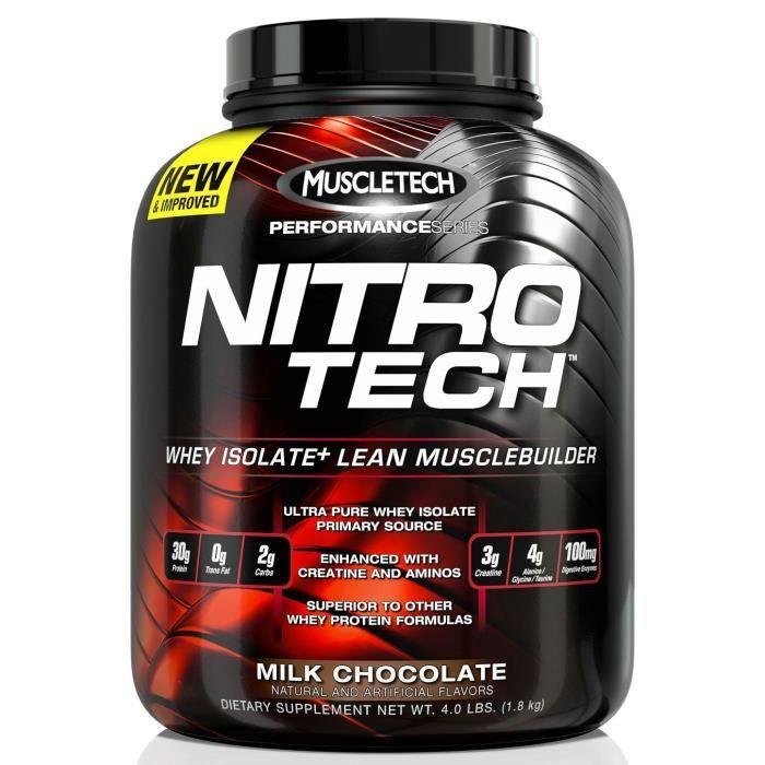 Nitro-Tech Performance Series CHOCOLATE MILK 1800g Muscletech