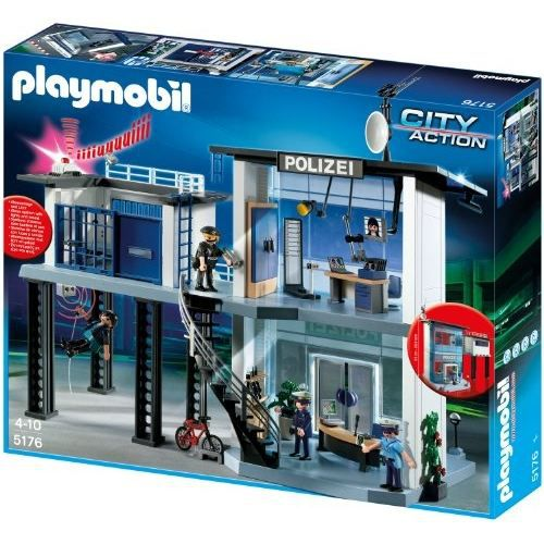 PLAYMOBIL 5176 - COMMAND CENTER WITH ALARM