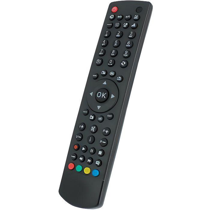 Télécommande de remplacement pour TV TELEFUNKEN