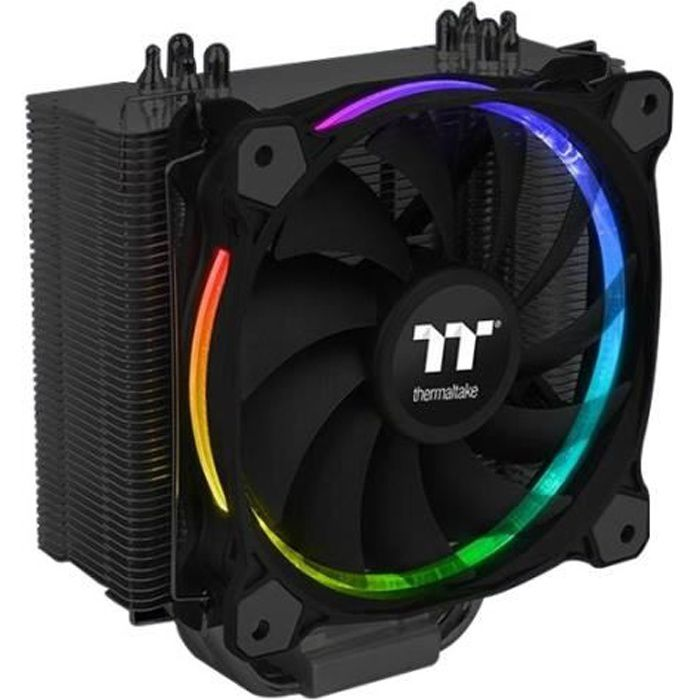 Thermaltake Ventirad Riing Silent 12 Rgb Sync Edition Pour processeur