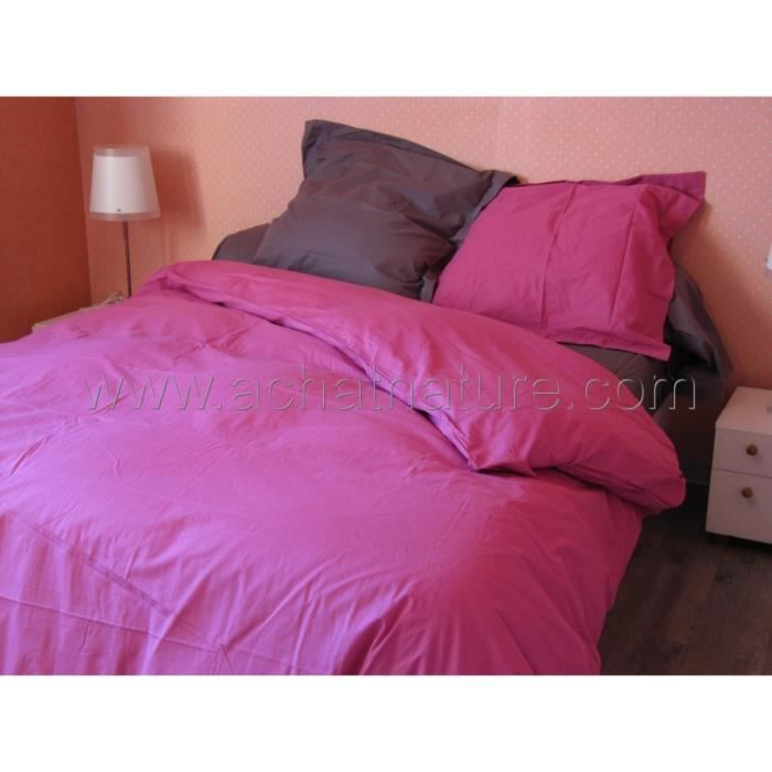 drap housse bio lit 2 personnes 160 x 200 cm coloris fuschia achat vente drap housse. Black Bedroom Furniture Sets. Home Design Ideas