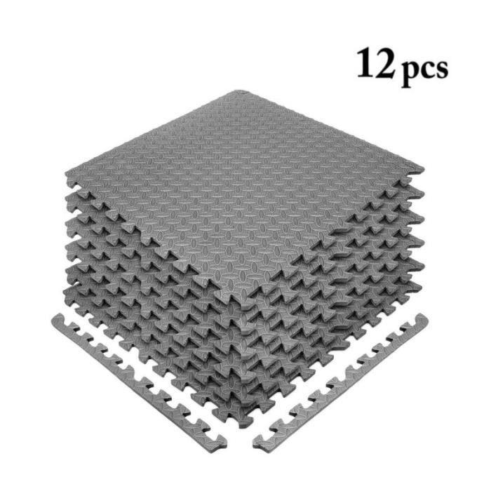 Tapis De Protection De Sol Lot De 12 Mousse Puzzle Pour Materiel