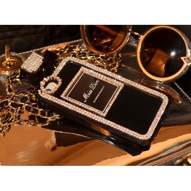 coque bouteille de parfum miss dior diamant iphone 5s achat coque bumper pas cher avis et. Black Bedroom Furniture Sets. Home Design Ideas