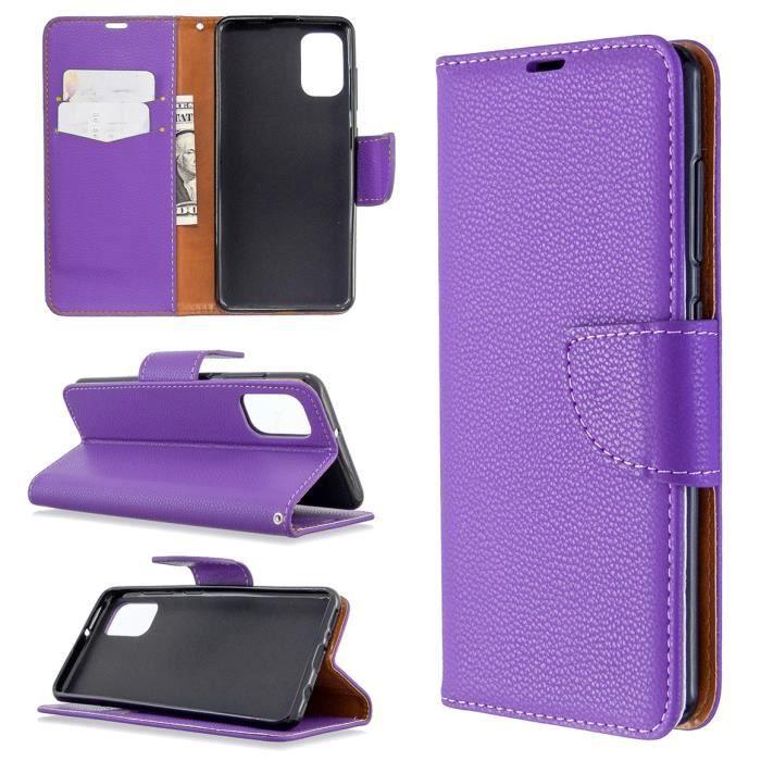 Coque Samsung Galaxy A41 Violet étui de téléphone