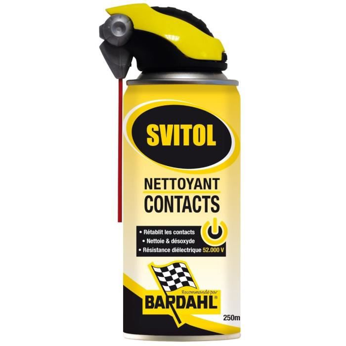 svitol nettoyant contact double spray achat vente lubrifiant moteur svitol nettoyant. Black Bedroom Furniture Sets. Home Design Ideas