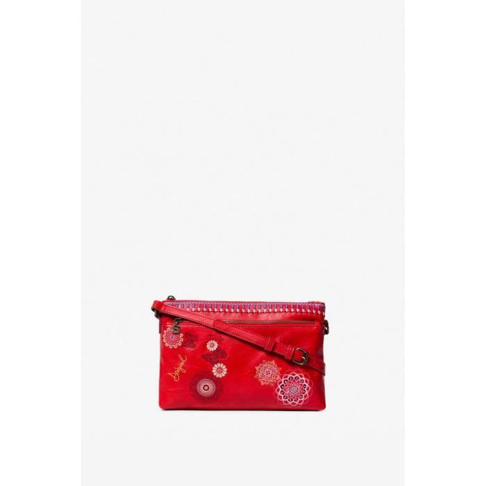 SAC À MAIN Desigual - Petit sac bandoulière ethnique femme si