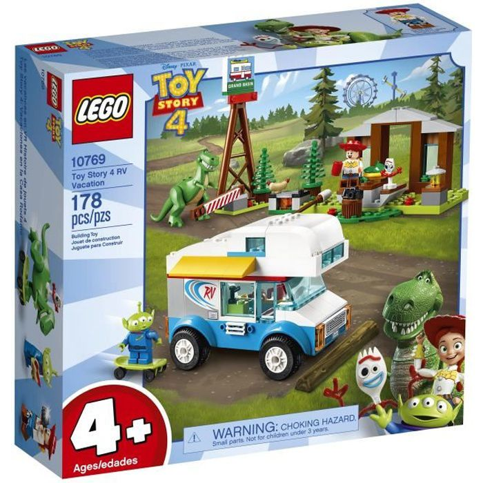 ASSEMBLAGE CONSTRUCTION LEGO® 4+ TOY STORY™ 10769 Les vacances en camping-
