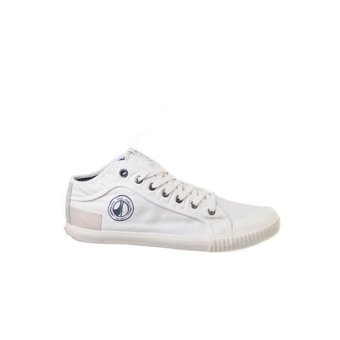 Baskets en toile PMS30338 Industry -PEPE JEANS Blanc Homme