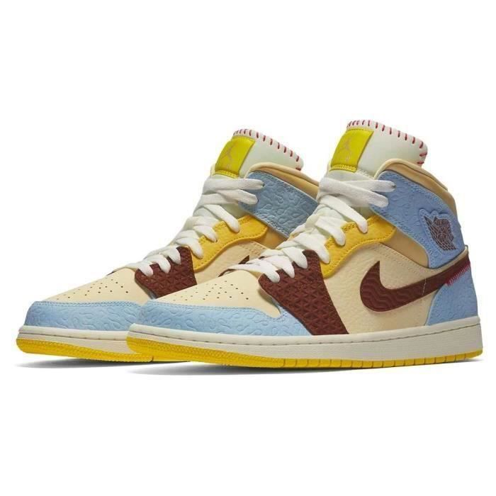 basket air jordan 1 mid fealess