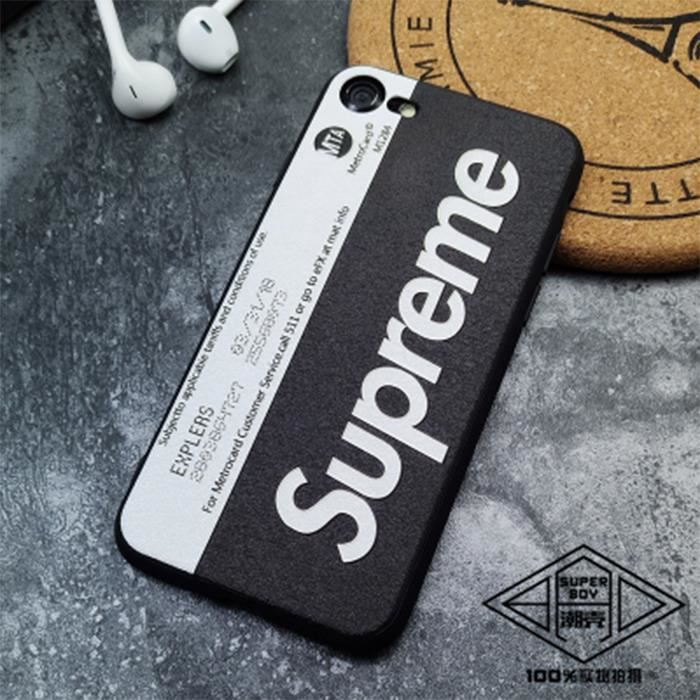coque iphone 7 supreme blanc