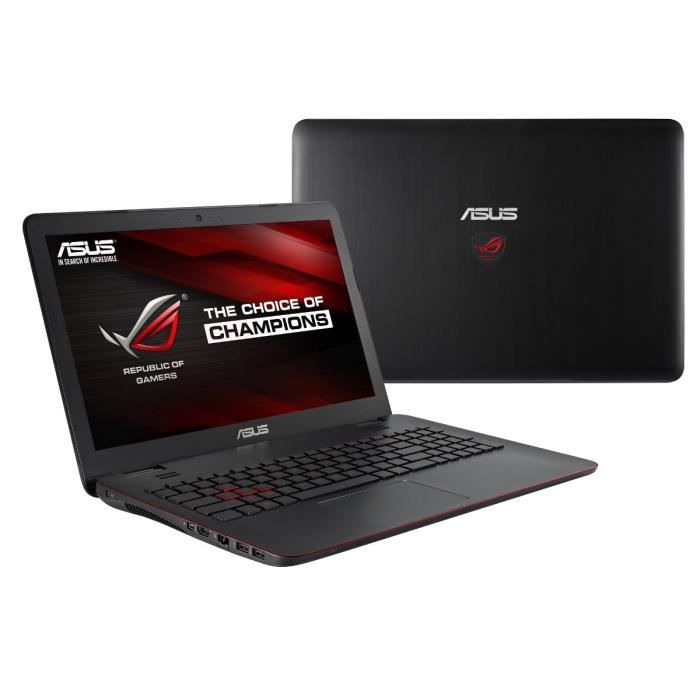 asus asus rog pc portable gamer gl551jw xo376t ordina. Black Bedroom Furniture Sets. Home Design Ideas