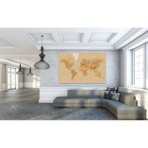 AFFICHE - POSTER Poster XXL Giant Art® The World photo, photo mural