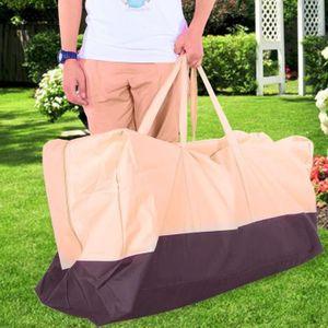 HOUSSE DE CHAISE Couverture de meubles extérieurs de sac de rangeme