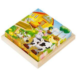 PUZZLE Puzzle en bois jouet éducatif pour les enfants 3D