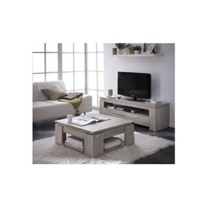 Ensemble table basse meuble tv achat vente ensemble for Ensemble salon complet pas cher