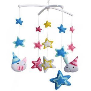 MOBILE [Brillant étoiles] Cadeau Bébé, Infants Musical Mo