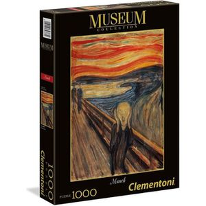 PUZZLE PUZZLE Collection Museum 1000 pièces - Munch Le Cr