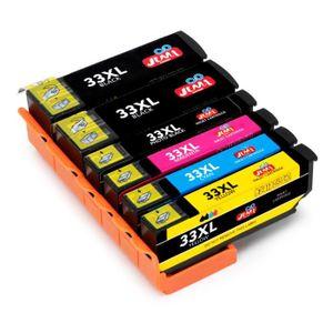 CARTOUCHE IMPRIMANTE Pack Compatible Epson 33 Cartouches d'encre