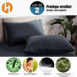 PROTEGE OREILLER HAIRICH Lot de 2 Protège-Oreillers Imperméables (5