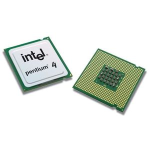 PROCESSEUR Processeur CPU Intel Pentium 4 520J 2.8GHz 1Mo 800