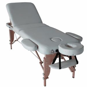 Table de massage Table de massage 3 plans pliante bois BATUAN