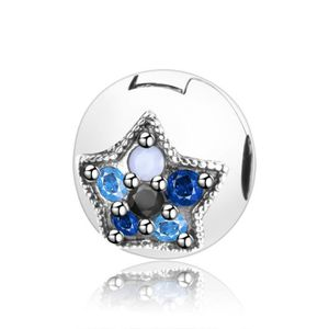 Charm's Charmes Clip Étoiles - Argent 925 Étoiles Colorées