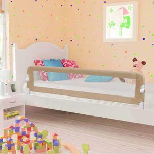 BARRIÈRE DE LIT BÉBÉ Barrière de sécurité de lit d'enfant Rose 120x42 c