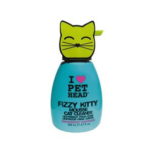 SHAMPOING - MASQUE PET HEAD Mousse Fizzy Kitty pour chat 200ml