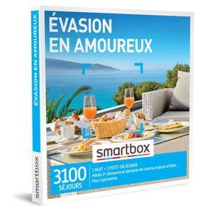 COFFRET SÉJOUR Coffret Cadeau - Évasion en amoureux - Smartbox