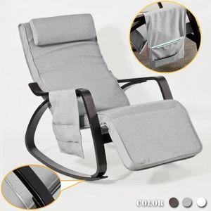FAUTEUIL SoBuy® FST20-HG Rocking Chair Fauteuil à bascule r