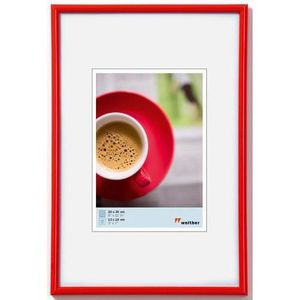 CADRE PHOTO Walther KR040H Cadres photo Rouge 30 x 40 cm