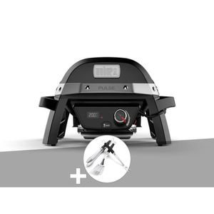 BARBECUE Barbecue électrique Weber Pulse 1000 + Kit Ustensi
