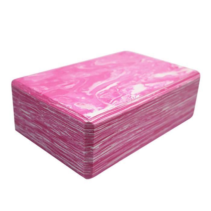 La brique de yoga 2 pièces et la brique de yoga en mousse EVA haute densité peuvent soutenir et approfondir _pian1131