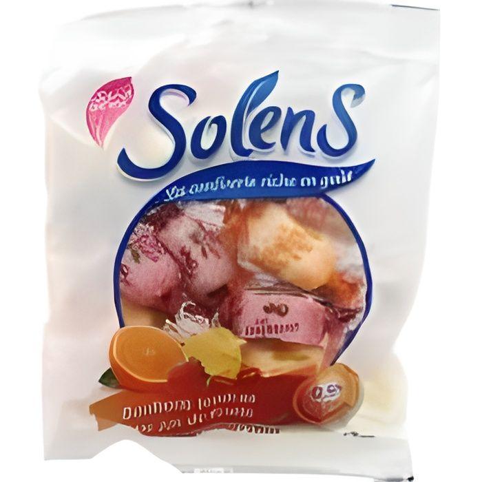 Solens Bonbons Tendres aux Jus de Fruits Sans Sucre 100 g