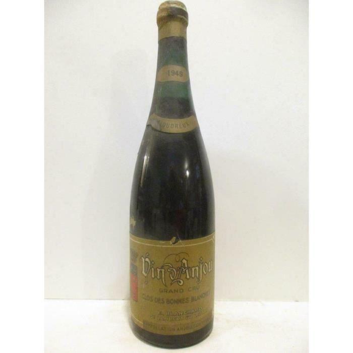 coteaux du layon blanchard grand cru clos des bonnes blanches liquoreux 1949 - loire - anjou