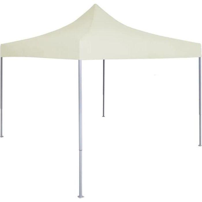 🎋7850Tente de réception Tonnelle réception jardin TONNELLE - BARNUM - Tente pliable pliante Chapiteauprofessionnelle 2x2 m Acier Cr