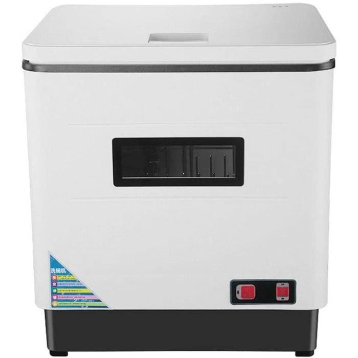 LAVE VAISSELLE vaisselle automatique indeacutependant de plan de travail 6 couverts 2000 W spray rotatif UV haute tempeacuteratu11