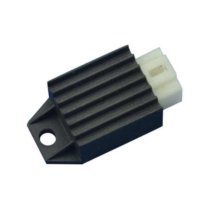 Bobines d'allumage,Stabilisateur de tension à 4 broches, redresseurs régulés, pour Scooter chinois GY6 - Type Black