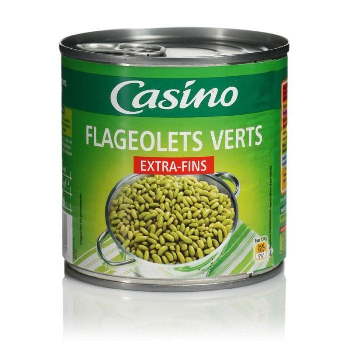Flageolets verts - Extra fins - 265g
