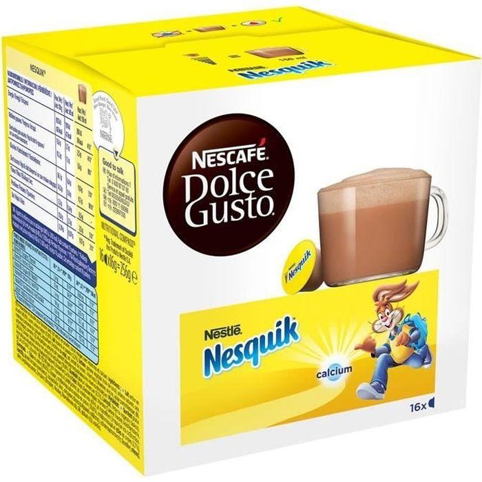 DOLCE GUSTO Nesquik - Capsules pour chocolat chaud 16 capsules