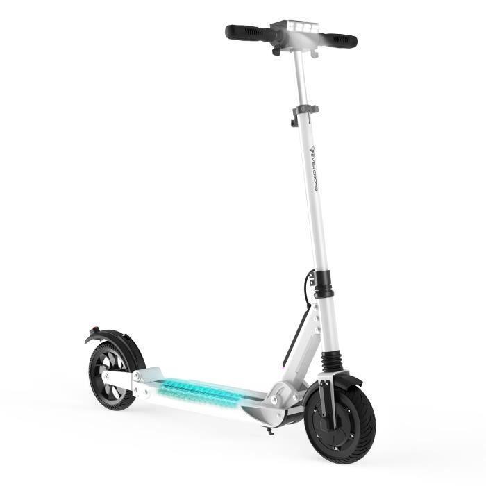 EVERCROSS Trottinette Electrique Pliable Scooter Electrique Pliant Ultra Léger et Réglable pour Ados et Mixte Adulte Vitesse