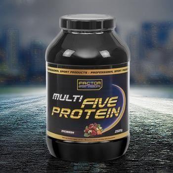 Multi five protein 2500 g vanille